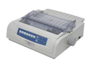 OKIDATA MICROLINE 420n (62418703) - Parallel, USB 9 pin 120V Up to 570cps 240 x 216 Dot Matrix Printer