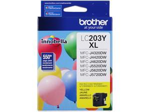 Brother LC203Y High Yield Innobella Ink Cartridge - Yellow