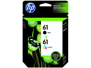HP 61 Ink Cartridge - Combo Pack - Black/Cyan/Magenta/Yellow