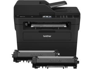 Brother MFC-L2750DWXL Wireless Duplex Compact All-in-One Monochrome Laser Printer -  Up to Two Years of Printing Included