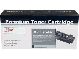 Rosewill RTCA-CE505A-C2 Economy Compatible Toner Cartridge (Replaces HP CE505A, 05A) 2,300 Pages Yield&#59; Black