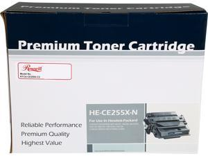 Rosewill RTCA-CE255X-C2 High Yield Compatible Toner Cartridge Replaces HP 55X CE255X 55A CE255A&#59; Black