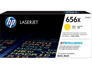 HP 656X High Yield LaserJet Toner Cartridge - Yellow