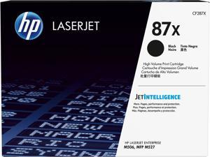 HP 87X High Yield LaserJet Toner Cartridge - Black
