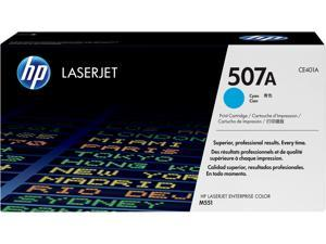 HP 507A LaserJet Toner Cartridge - Cyan