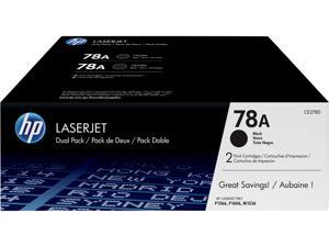 HP 78A LaserJet Toner Cartridge - Dual Pack - Black