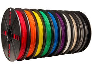 True Color Large PLA Filament 10-Pack