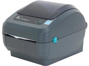 Zebra GX420d Direct Thermal Desktop Label Printer, 203 dpi,  USB, Serial, Centronics Parallel, EPL2, ZPL II - GX42-202510-000