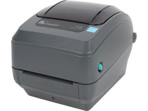 "Zebra GX430t 4"" Performance Desktop Thermal Transfer Label Printer, 300 dpi, USB, Serial, Ethernet, Cutter (Liner/Tag), EPL2, ZPLII – GX43-102412-000"