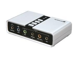 StarTech ICUSBAUDIO7D 7.1 Channels USB Interface Audio Adapter External Sound Card