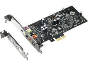 ASUS Xonar SE 5.1 Channel 192 kHz / 24-bit Hi-Res 116dB SNR PCIe Gaming Sound Card with Windows 10 Compatibility
