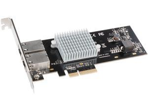 Sonnet Technologies G10E-2X-E3 Presto 10Gb Ethernet Dual Rj45 Copper 10Gbase-T Ethernet Pcie Card