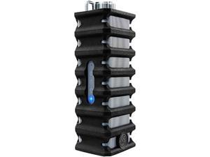 GOgroove Ruggedized IPX4 Water Resistant Bluetooth Speaker with Silicone Protection - Works With Apple, Samsung, LG and More