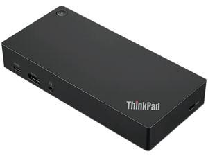 Lenovo ThinkPad USB-C Dock Gen 2 - Docking station - USB-C - HDMI, 2 x DP - GigE - 90 Watt - for ThinkPad E490s, T480, T490, ...