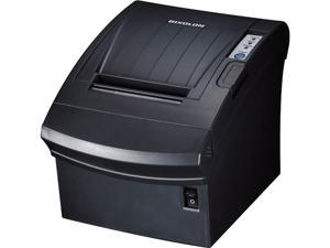 "Bixolon SRP-350plusIII 3"" Direct Thermal Receipt Printer, USB, Parallel Interface Card, Ethernet, Auto Cutter, Black - SRP-350PLUSIIICOPG"