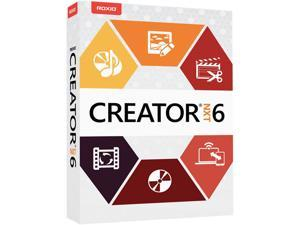 RAXIO CREATOR NXT 6 ML MINI-BOX - Complete CD/DVD Burning and Creativity Suite for PC