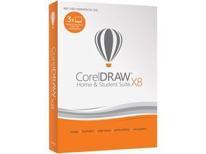 CorelDRAW Home & Student Suite X8 for PC