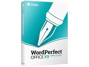 Corel CA WordPerfect Office X9 Home & Student Edition for PC