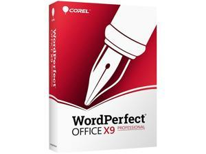 Corel WordPerfect Office v.X9 Professional Edition - Box Pack (Upgrade) - 1 User