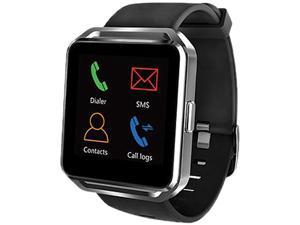 "Supersonic BT 1.5"" Touch Screen Display Smartwatch - Black"