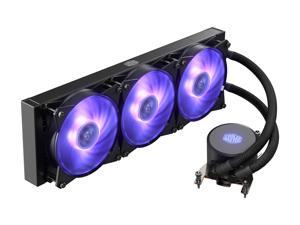 Cooler Master MasterLiquid ML360 RGB AIO CPU Liquid Cooler Thread Ripper TR4 Triple 120mm RGB Air Balance MF