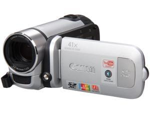 "Canon FS400 Silver 1/6"" CCD 2.7"" 112k LCD 37X Optical Zoom HDD/Flash Memory Camcorder"