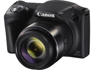 Canon PowerShot SX420 IS Digital Camera - Black