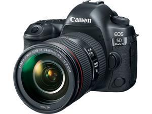 Canon 1483C010 EOS 5D Mark IV DSLR Camera with 24-105mm f/4L II Lens