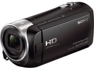 "SONY CX440 HDR-CX440/B Black 1/5.8'' back-illuminated Exmor R CMOS 2.7"" 230.4K LCD 30X Optical Zoom Full HD HDD/Flash Memory Camcorder"