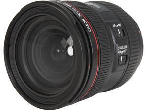 Canon 6313B002 SLR Lenses EF 24-70mm f/4L IS USM Standard Zoom Lens Black
