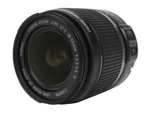 Canon EF-S 18-55mm f/3.5-5.6 IS Standard Zoom Lenses