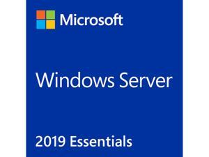 Windows Server 2019 Essential 64-bit - 1 Server, 2 CPU