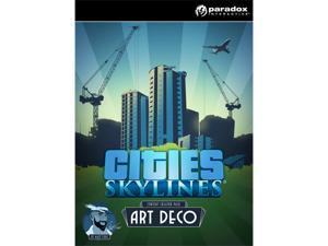 Cities: Skylines - Content Creator Pack: Art Deco [Online Game Code]