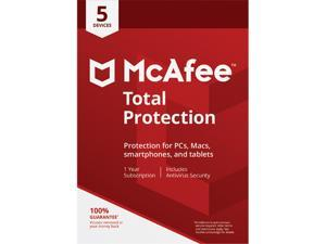 McAfee Total Protection, 5 Devices 1 Year - Download
