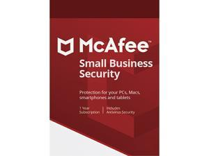 McAfee Small Business Security, 5 Devices 1 Year - Download