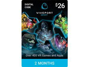 Viveport Infinity: 2 Month Unlimited VR Access [Digital Code][Promotional Only, Code Expires on September 17, 2019]