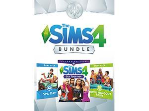 The Sims™ 4 Bundle - Get Together, Spa Day, Movie Hangout Stuff - PC Digital [Origin]