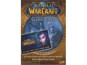World of Warcraft 60 Day Pre-Paid Time Card - PC/Mac PC Game