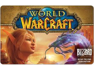 Blizzard World of Warcraft 60 Day Time Card (Email Delivery)