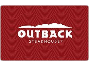 Outback Steakhouse $50 Gift Card + $10 Gift Card