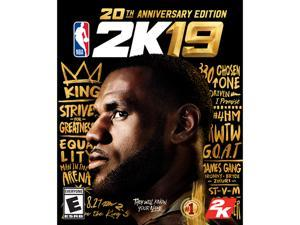 NBA 2K19 20th Anniversary Edition for PC [Online Game Code]