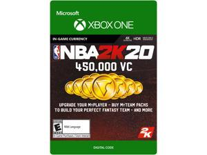 NBA 2K20: 450,000 VC Xbox One [Digital Code]