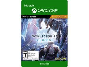 Monster Hunter World: Iceborne Digital Deluxe DLC Xbox One [Digital Code]