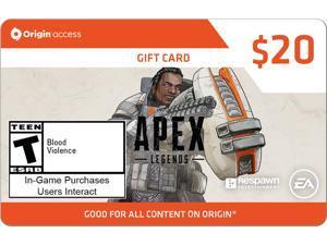 $20 EA Origin Access Apex Gift Card