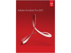 Adobe Acrobat Professional 2017 for Windows
