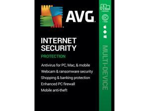 AVG Internet Security 2020, 5 Devices 1 Year [Key Card]