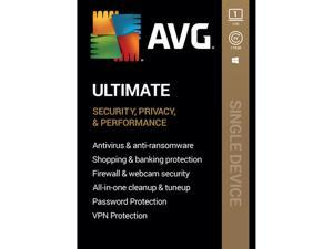 AVG Ultimate [Security, Privacy and Performance] 2020, 1 PC 1 Year [Key Card]