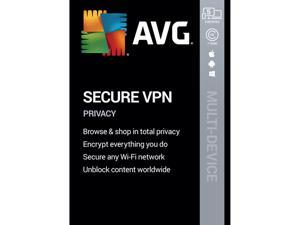 AVG Secure VPN 2020, 5 Devices 1 Year [Key Card]