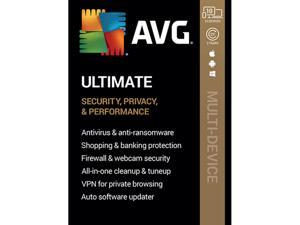 AVG Ultimate [Security, Privacy and Performance] 2020, 10 Devices 2 Years - Download