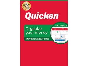 Quicken Starter Personal Finance - 1-Year Subscription (Windows/Mac)